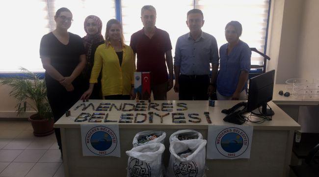 Menderes'te Atık Piller Toplandı