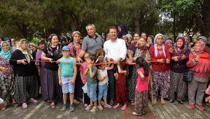 Menemen'in ilk 'Organik Köy Pazarı' açıldı
