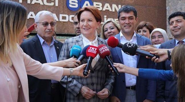 Meral Akşener: Yüksek oranda katılım olacak