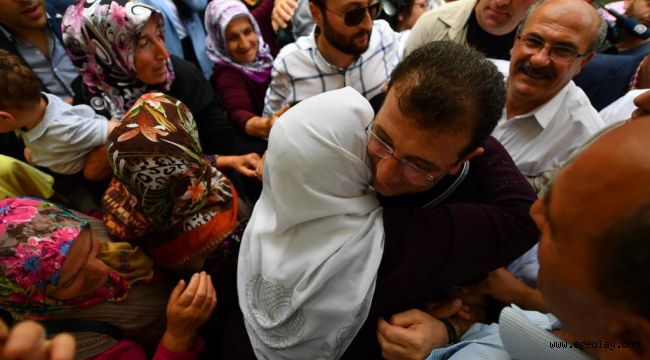 Trabzon İmamoğlu'nu bağrına bastı