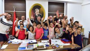 Başkan Mustafa İduğ'dan çocuklara havuz müjdesi