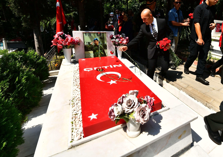 Başkan Soyer, 15 Temmuz şehitlerini anma törenine katıldı