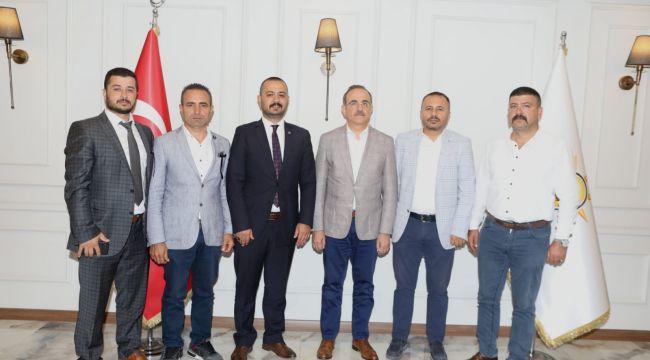 BBP İzmir'den siyasi nezaket ziyareti