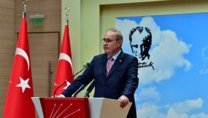CHP Sözcüsü Faik Öztrak'tan Açıklama