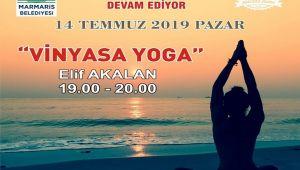Marmaris Macera Parkında Halka Açık Yoga
