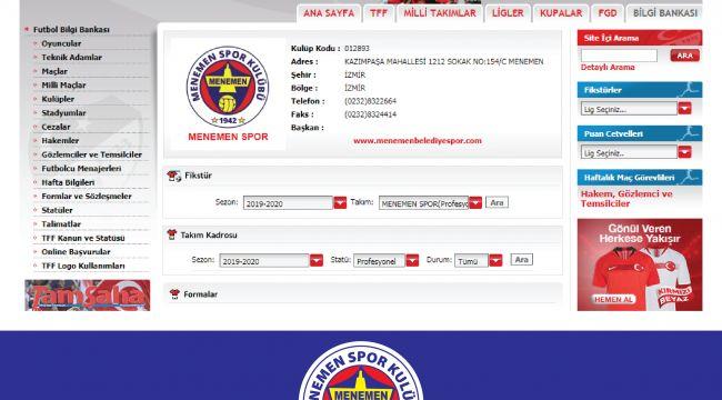 Menemen Spor İsim ve Logo Değişikliği Yaptı
