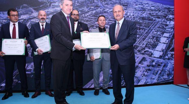 Petkim Limanı'na dördüncü kez Yeşil Liman Sertifikası verildi