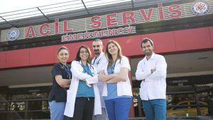 """Prof. Dr. Ersel, """"EÜ Acil Servis Türkiye'de en fazla sayıda acil sağlık hizmeti sunan acillerinden biridir"""""""