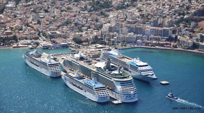 Türkiye'nin Yeşil Liman sertifikalı kruvaziyer limanları sadece Kuşadası ve Bodrum oldu