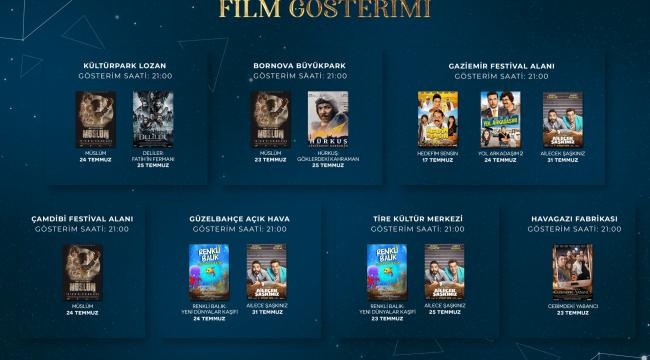 Uluslararası İzmir Film Festivali gösterim takvimi açıklandı