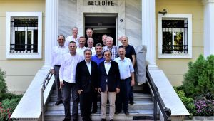 Çamdibi Esnaf ve Sanatkarlar Odası'ndan Başkan İduğ'a ziyaret