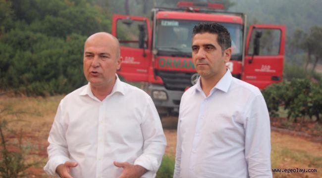 CHP'li Bakan Yangın söndürme çalışmalarındaki ihmalleri anlattı