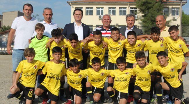 Çocuk Futbolu Festivali Çamdibi'nde başladı