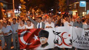 Dikili'de Zafer Bayramı Festivalle Taçlandı