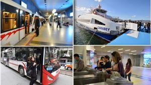 İzmirliler bayramda toplu ulaşımdan ücretsiz yararlanacak