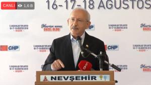 Kılıçdaroğlu: Sendikanın genel başkanı işçinin alın terini pazarlıyor