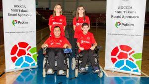 Milli sporcularımız Boccia Avrupa Bölge Şampiyonası'na hazır