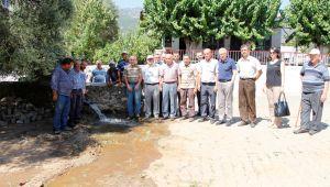 Ödemiş Mursallı Mahalle Sakinleri Sulama Suyu Hattına Kavuştu