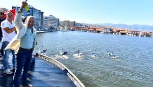 3. İzmir Körfez Festivali yelken yarışlarıyla başladı