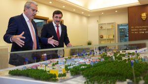 AK Parti Genel Başkan Yardımcısı Yılmaz, Rektör Budak'ı ziyaret etti