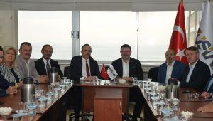 AK Parti İzmir İl Başkanı Kerem Ali Sürekli'den MÜSİAD'a Ziyaret