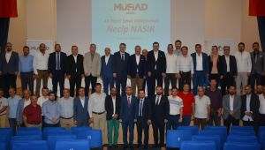 AK Parti İzmir Milletvekili Nasır, İşadamlarının Sorunlarını Dinledi