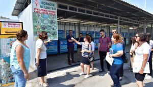 Bornova'da hacimli atıklara AB destekli çözüm