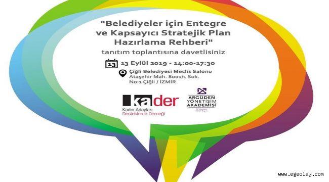 Çiğli'de stratejik plan rehberi tanıtılacak