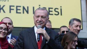 Cumhurbaşkanı Erdoğan: Bütçede aslan payını eğitime ayırdık
