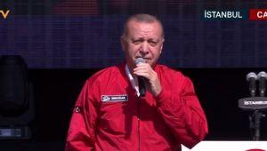 Cumhurbaşkanı Erdoğan: Teknolojinin pazarı değil üreticisi olmak istiyoruz
