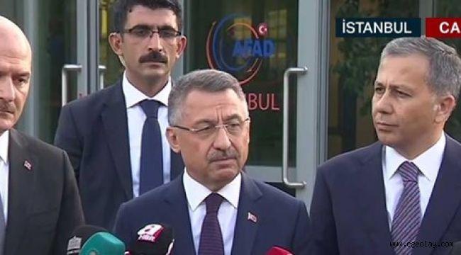 Cumhurbaşkanı Yardımcısı Oktay: 3 GSM operatörü depreme karşı ortak hat kuracak