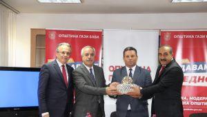Egeli yaş meyve sebze ihracatçılarına Kuzey Makedonya'da VİP ilgi