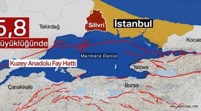 İstanbul 5.8'lik depremle sallandı