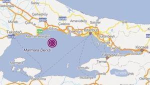 İstanbul Silivri açıklarında 3,8'lik deprem