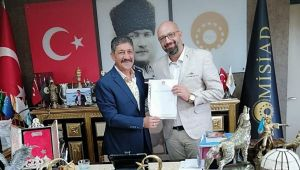İzmir MİSİAD'da Bayrak Değişimi