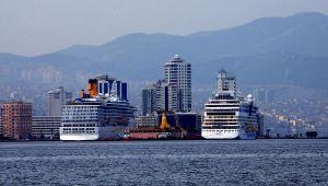 Kruvaziyer gemiler İzmir'e geri dönüyor