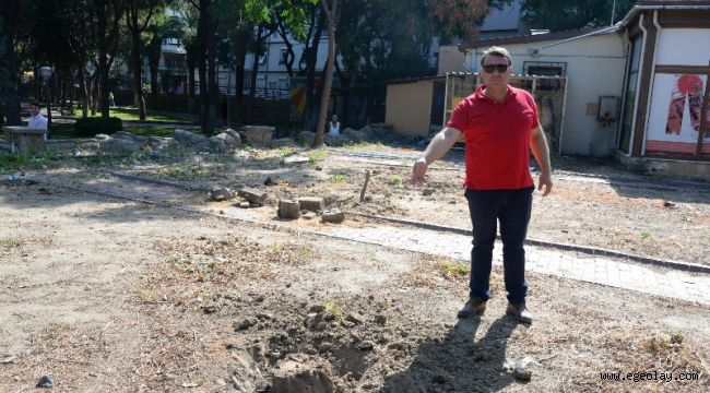 Menemen Belediyesi'nden ağaç katliamı iddialarına yalanlama