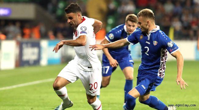 Milliler Moldova'yı 4-0 Yendi