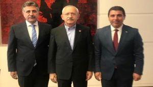 Serdar Sandal ve Cemalettin Alper'den Genel Başkan Kılıçdaroğlu'na Ziyaret