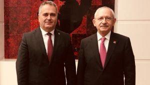 Av. Aydın Özcan'dan CHP Genel Başkanı Kılıçdaroğlu'na ziyaret