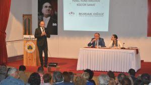 Başkan Burak Oğuz Ardahan'da Urla'yı Anlattı