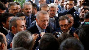 """Cumhurbaşkanı Erdoğan: """"Bizim derdimiz, bu toprakları sahiplerine teslim etmektir yoksa 'Bize bunu verin' diye bir derdimiz yok"""""""