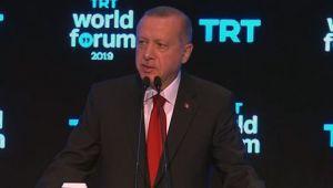 Cumhurbaşkanı Erdoğan: Teröristlerle masaya oturmadık oturmuyoruz ve oturmayacağız