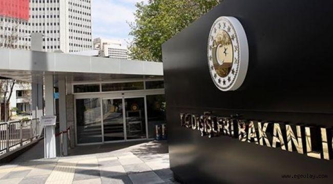 Dışişleri Bakanlığı: Türkiye, Fırat'ın doğusunu teröristlerden temizlemekte kararlıdır