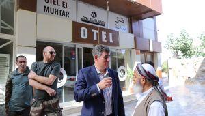 Feyzioğlu oteldeyken terör örgütü YPG/PKK Akçakale'ye Havan Saldırısı