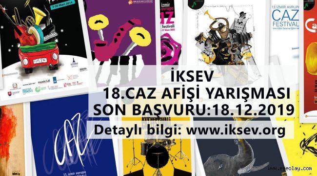 İzmir Avrupa Caz Festivali Geleneksel Afiş Yarışması Şartnamesi Açıklandı