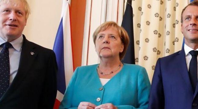 Macron, Johnson ve Merkel'den Erdoğan ile görüşme kararı