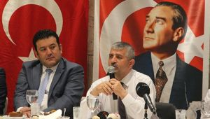 MHP Atatürk'ün Durduğu Yerde