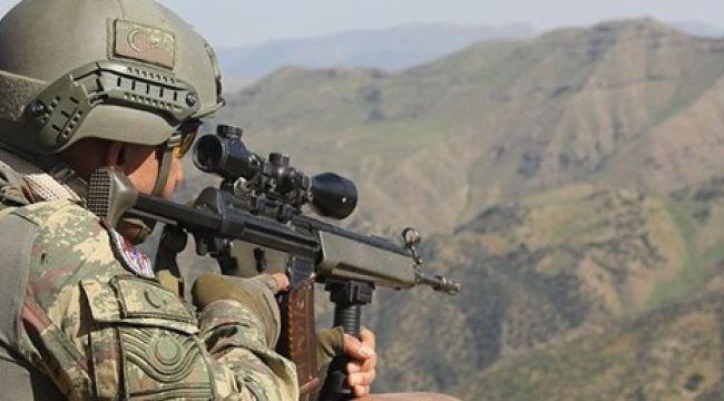 MSB: Tel Abyad'da teröristlerin açtığı ateşte 1 asker şehit oldu
