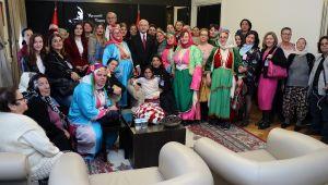 Ankara'da renkli görüntüler
